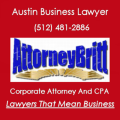 Austin Business Attorney And CPA | AttorneyBritt - Gary L. Britt, CPA, J.D. helps businesses and business owners form their LLCs, corporations, and partnerships;  draft their operating, shareholder, and partnership agreements; manage, structure, and gover